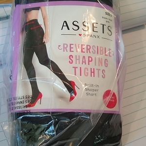Assets by Spanx Reversible Shaping Tights size 5